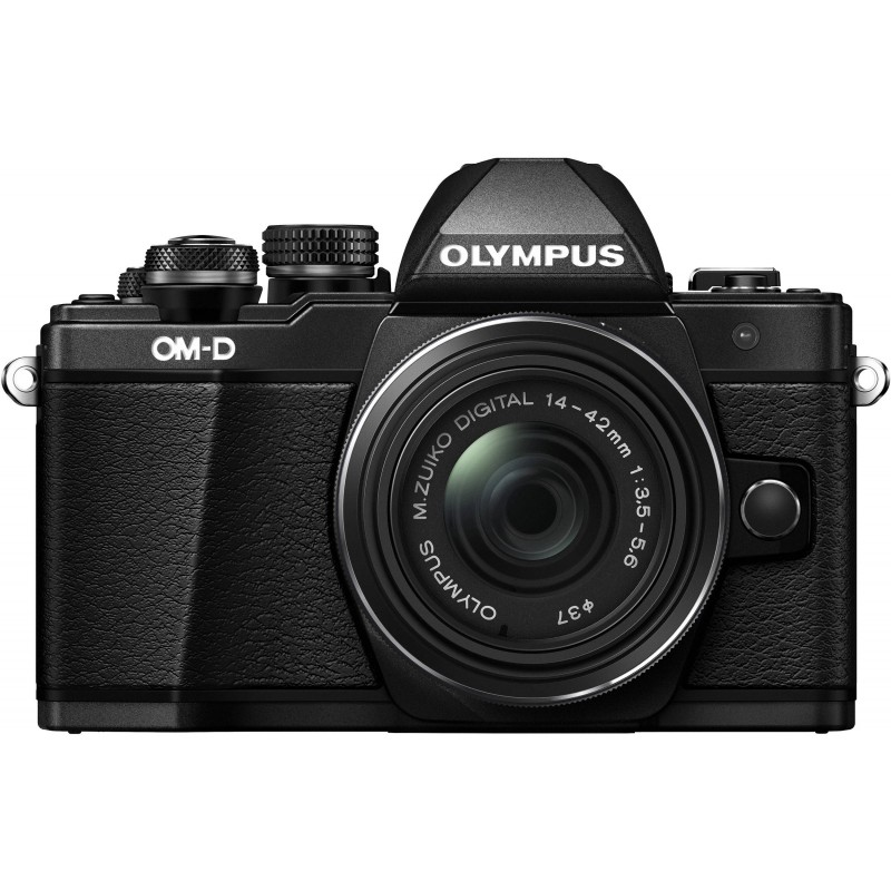 Olympus OM-D E-M10 Mark II + 14-42 мм II R Kit, черный