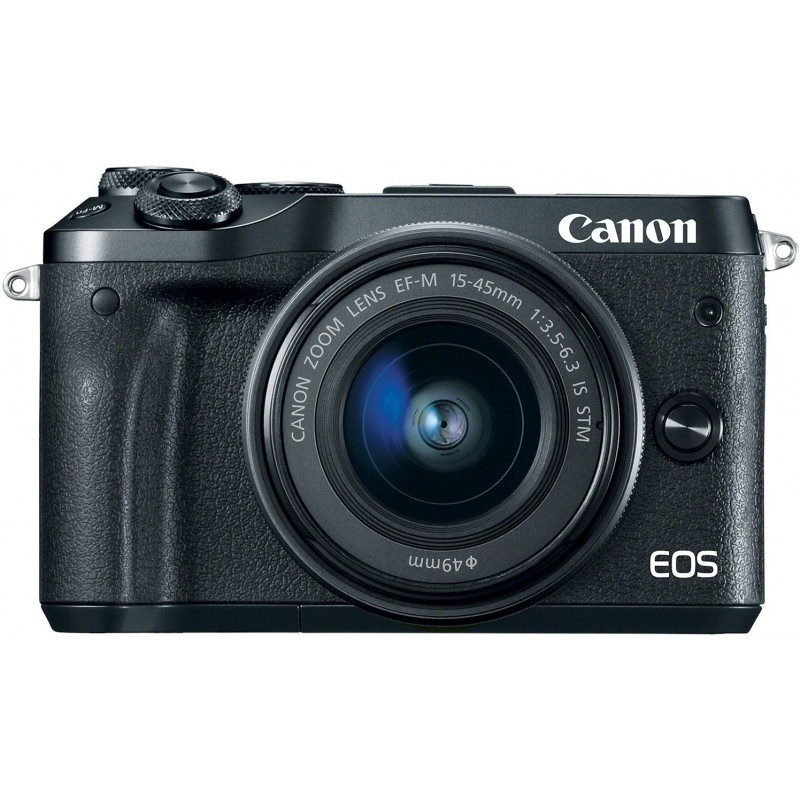 Canon EOS M6 + EF-M 15-45mm + 55-200mm IS STM, must