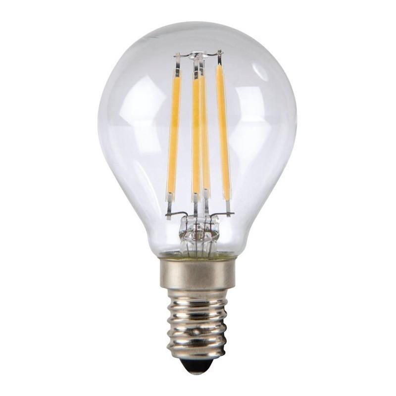 omega led spuldze e14 4w 2800k filament 43553 led spuldzes photopoint. Black Bedroom Furniture Sets. Home Design Ideas