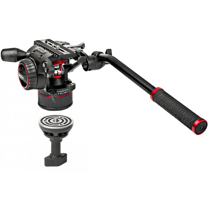 Manfrotto tripod kit Nitrotech N8 MVKN8TW + 546B