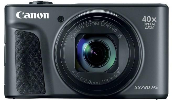 Canon Powershot SX730 HS, melns