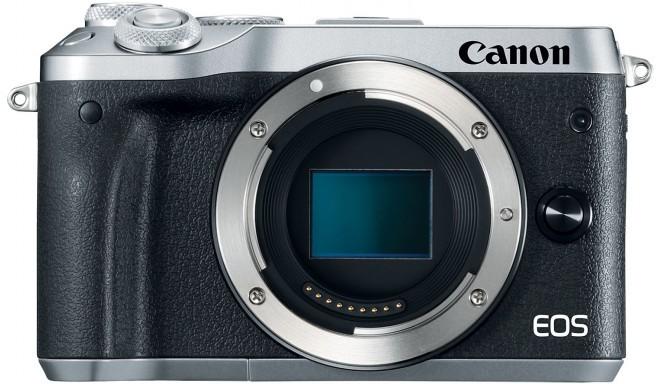 Canon EOS M6 korpuss, sudrabots