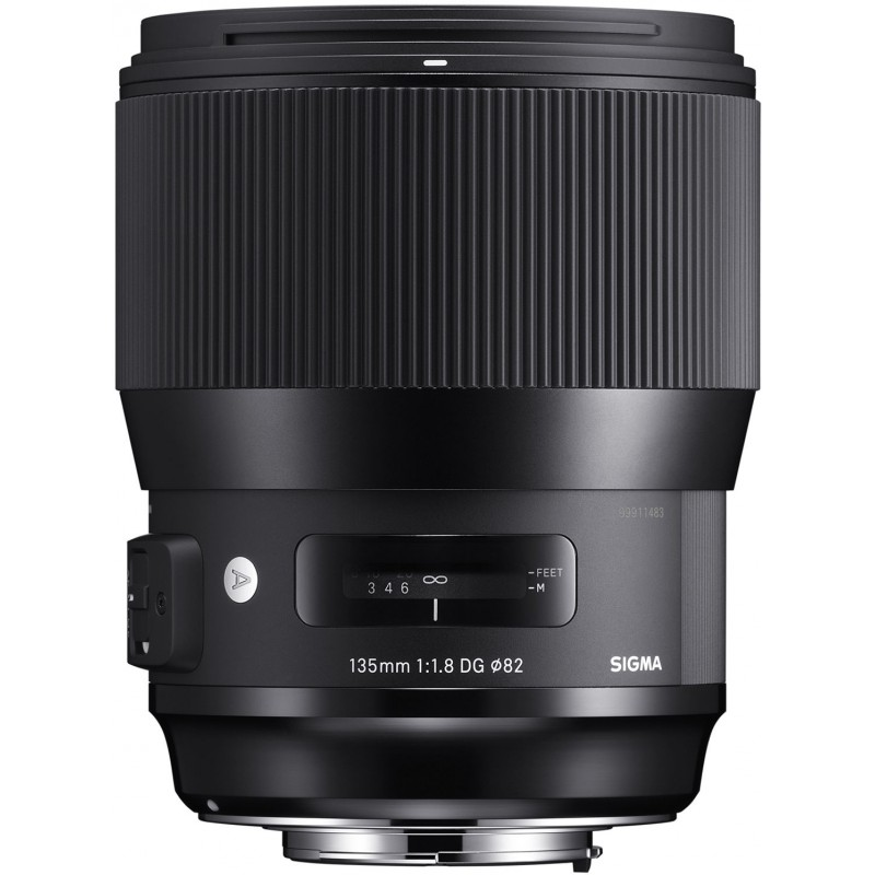 Sigma 135mm f/1.8 DG HSM Art objektiiv Canonile