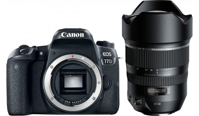 Canon EOS 77D + Tamron 15-30 мм VC USD