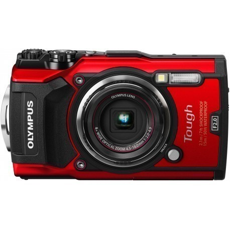Olympus Tough TG-5, red