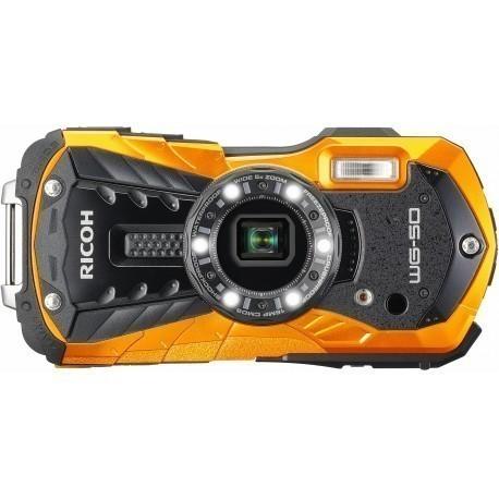 Ricoh WG-50, ораньжевый