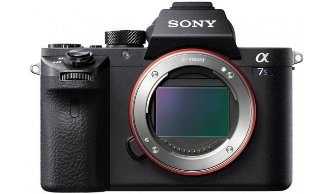 Sony a7S II + XLR-K2M микрофон