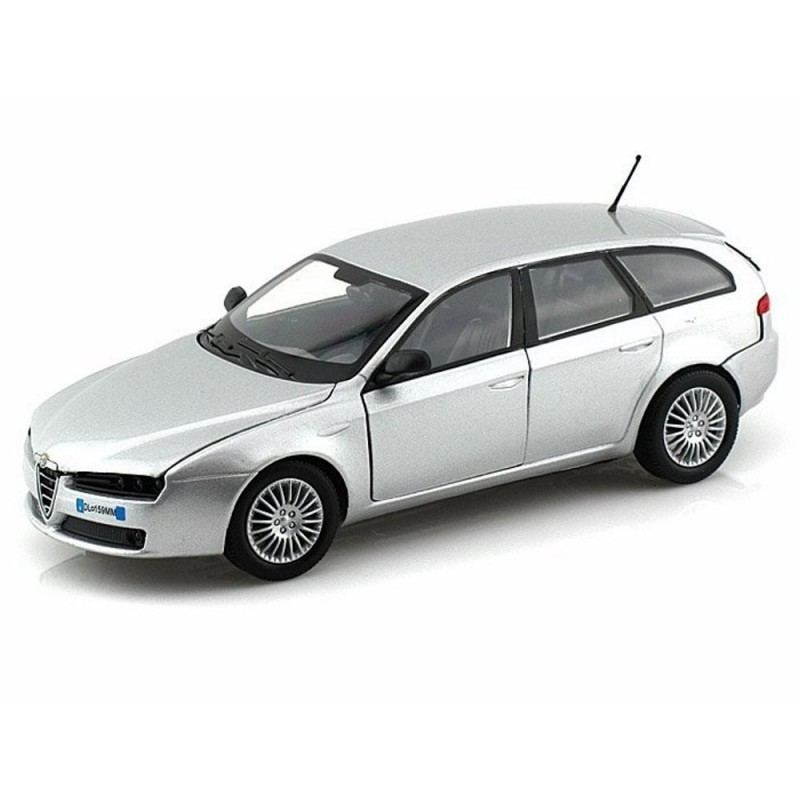 alfa romeo 159 sw silver without showcase model kits. Black Bedroom Furniture Sets. Home Design Ideas