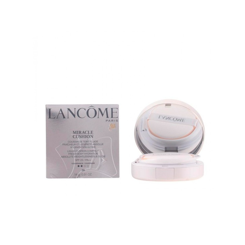 Lancome - MIRACLE CUSHION fluide SPF23 03-beige pêche 14 gr