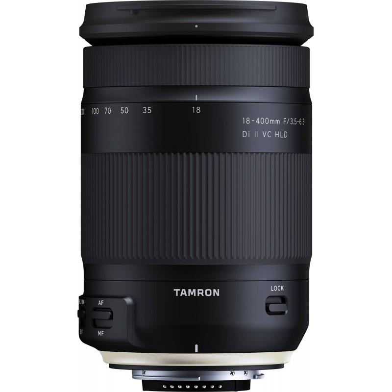 Tamron 18-400mm f/3.5-6.3 Di II VC HLD lens for Nikon