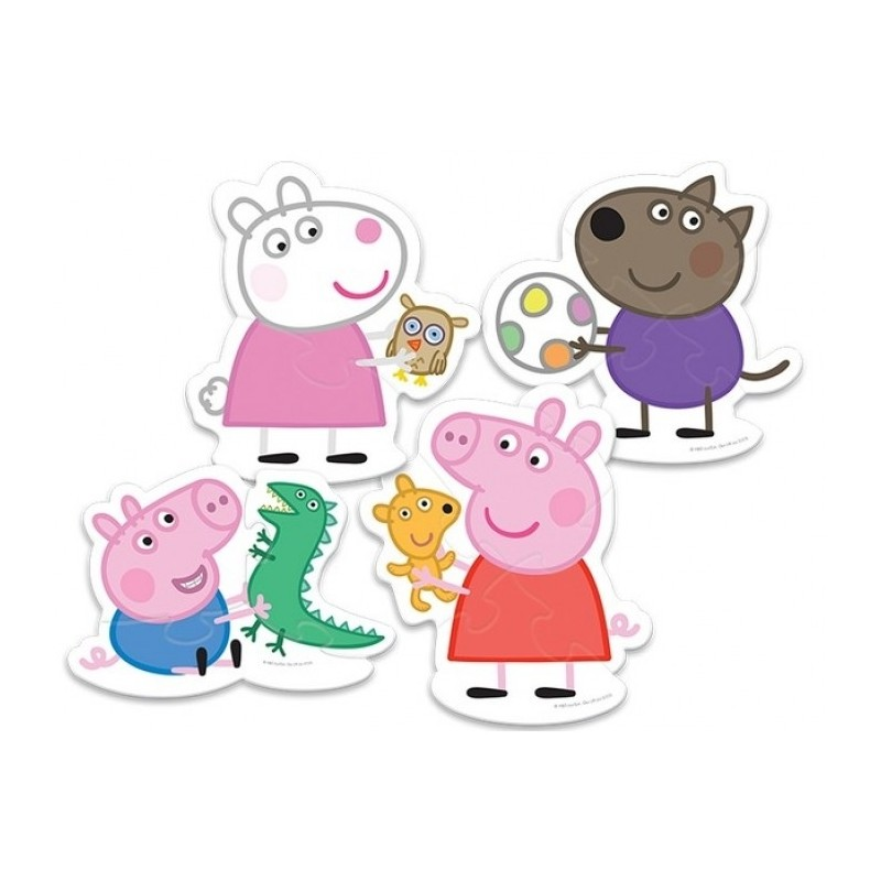Trefl Baby Puzzle Baby Classic Peppa Pig Baby Puzzles
