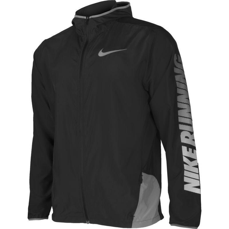 46d4ead845698 Sweatshirt for men running Nike City Core Windbreaker M 833549-010