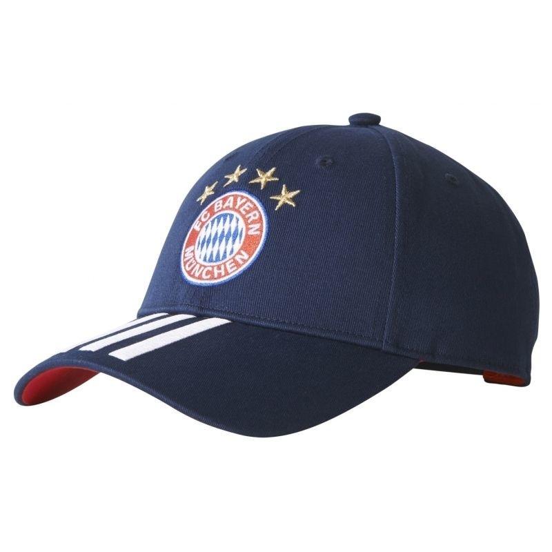 ed7cb6f183d98 Cap for adults adidas 3-Stripes FC Bayern Monachium BR7069 - Hats ...
