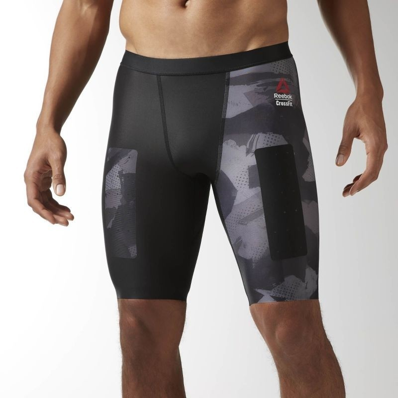 Compression pants for men Reebok CrossFit Short Printed M BK1065