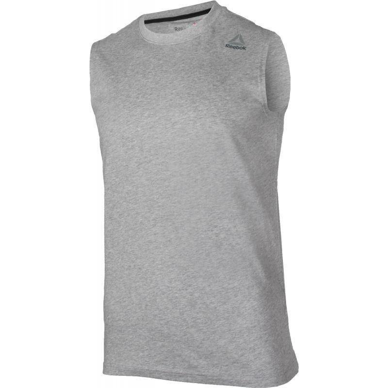116a17f4cd8c1 Men s training shirt Reebok Elements Sleeveless Tee M BK3346 ...