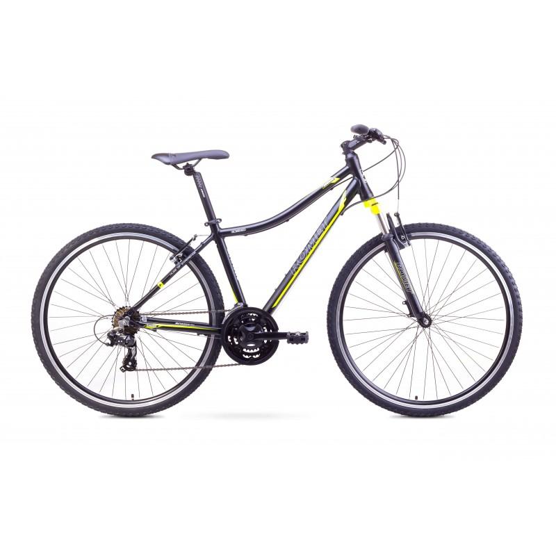 Mountain bike for women 19 L ROMET ORKAN D black-yellow - Bicycles ...