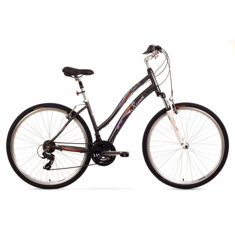 32d9463104a Linnajalgratas naistele 16 ROMET PERLE 1.0 must - Jalgrattad ...