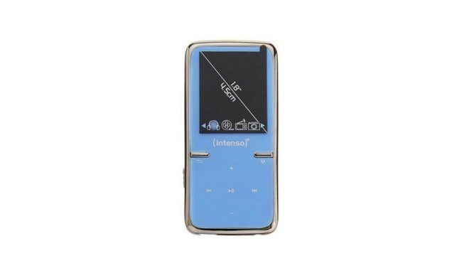 Intenso MP4 player 8GB Video Scooter LCD 1,8'' Blue