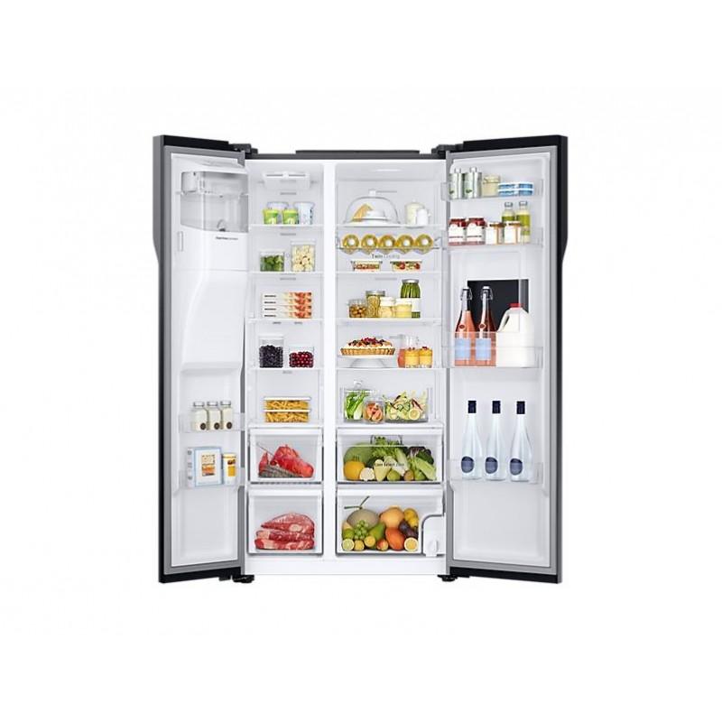 samsung refrigerator side by side rs51k57h02c. Black Bedroom Furniture Sets. Home Design Ideas