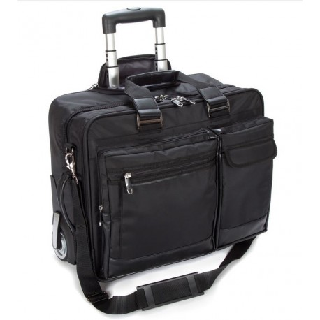 bcba0d3927d Falcon Mobile Laptop / Tablet Trolley Case 17