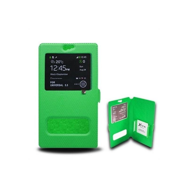 7591c059d6a Universaalne Aknaga Mobiiltelefoni Ümbris Ref. 106924 Suurus S Roheline