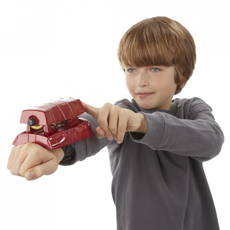Nerf Marvel Avengers toy gun with loads Iron Man