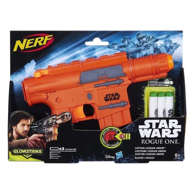 Hasbro Star Wars Rogue One Blaster - Captain Cassian Andor, NERF Gun