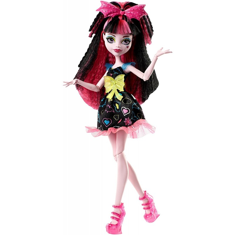 62ef2974f93 Monster High nukk Draculaura Electrified (DVH67) - Nukud - Photopoint