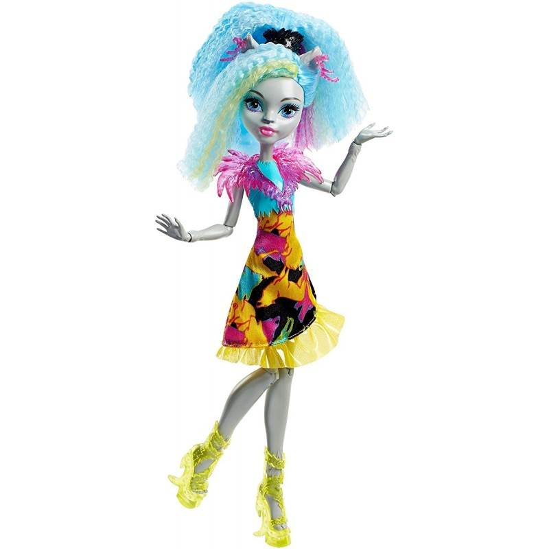 ef94fca06a4 Monster High nukk Silvi Timberwolf Electrified (DVH66) - Nukud ...