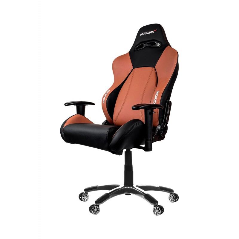 Attirant AKRACING Premium Gaming Chair Black/Brown