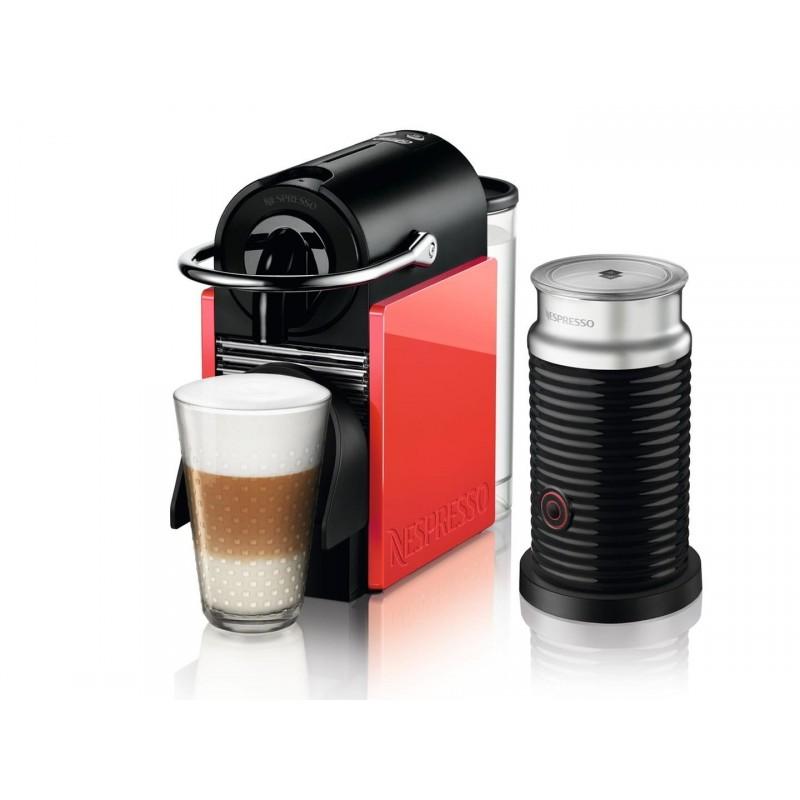 Delonghi Nespresso Pixie Clips EN 126.AE - incl. Aeroccino - Coffe ...