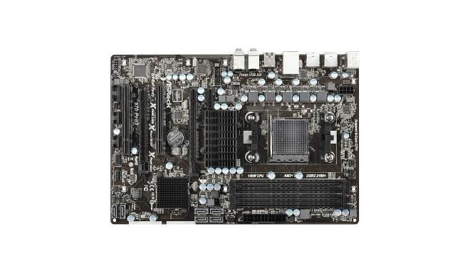 ASRock emaplaat 970 PRO3 R2.0 970 DualDDR3-1333 SATA3 RAID GBLAN ATX