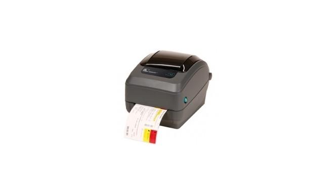 Zebra GX420t rev2, 8 dots/mm (203 dpi), cutter, display, EPL, ZPL, multi-IF, print server (wifi) (GX