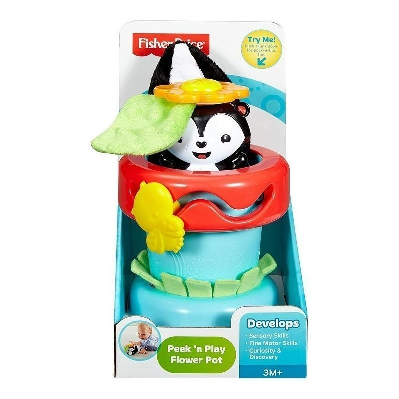 fisher price flower pot baby toy arendavad m nguasjad photopoint. Black Bedroom Furniture Sets. Home Design Ideas