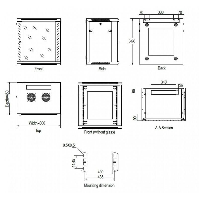linkbasic rack wall