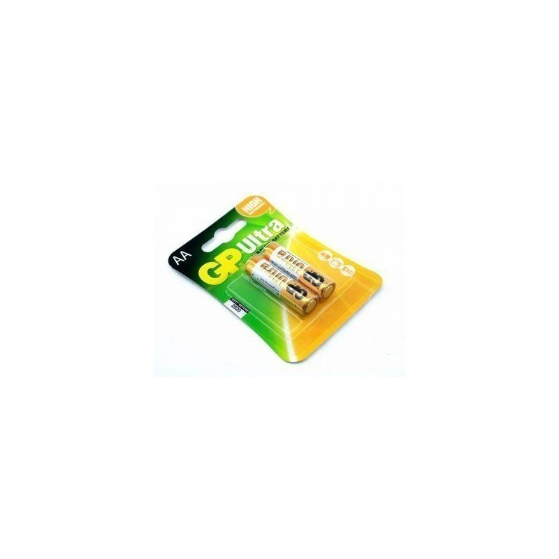 Alcaline battery GP Batteries 15AU-U2 AA | LR6 | 1.5V | ULTRA ALKALINE