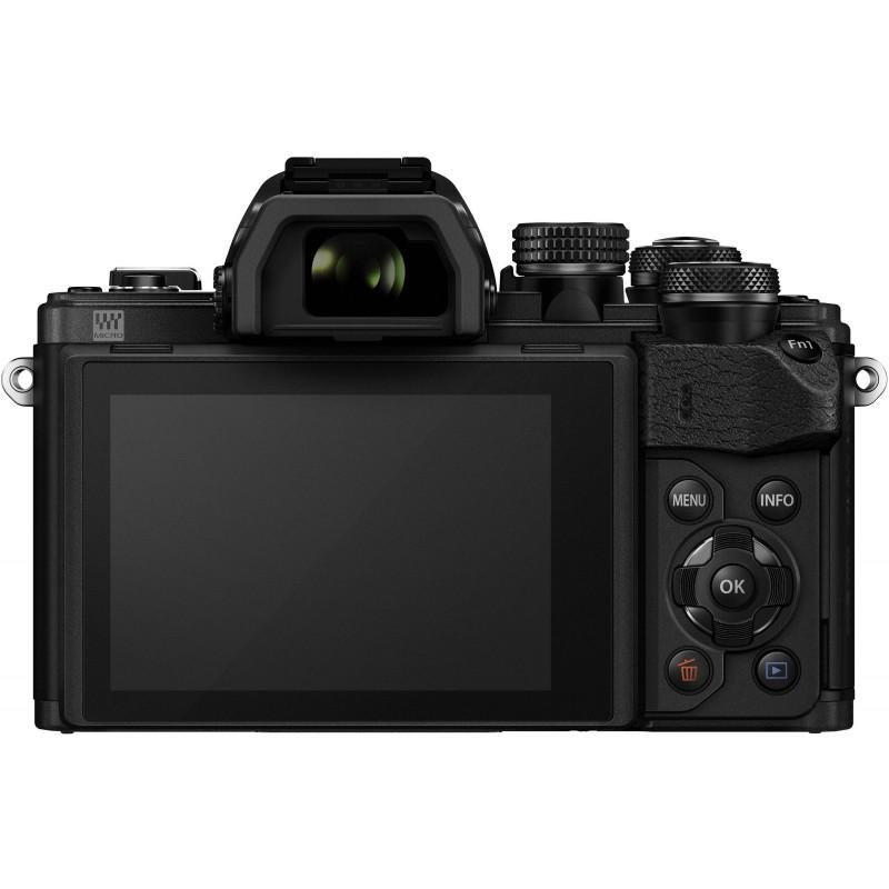 Olympus OM-D E-M10 Mark II + 14-42mm R + 40-150mm Kit, black