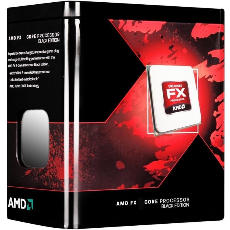 AMD FX-8350 Vishera 4.0GHz Socket AM3 125W Eight-Core CPU FD8350FRHKBOX