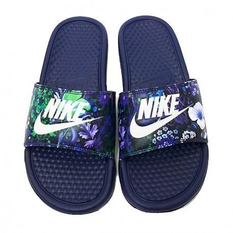 finest selection 7950b 96658 Plätud Nike WMNS BENASSI JDI PRINT tumesinine
