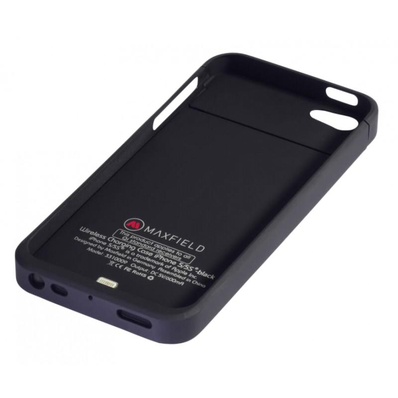 Maxfield wireless charging case iPhone 5/5s/SE, black
