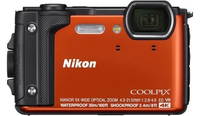 Nikon Coolpix W300 Holiday Kit, оранжевый
