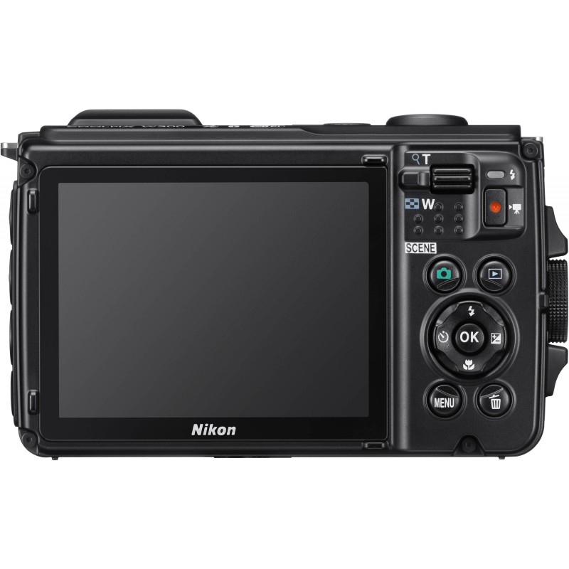 Nikon Coolpix W300 Holiday Kit, oranž