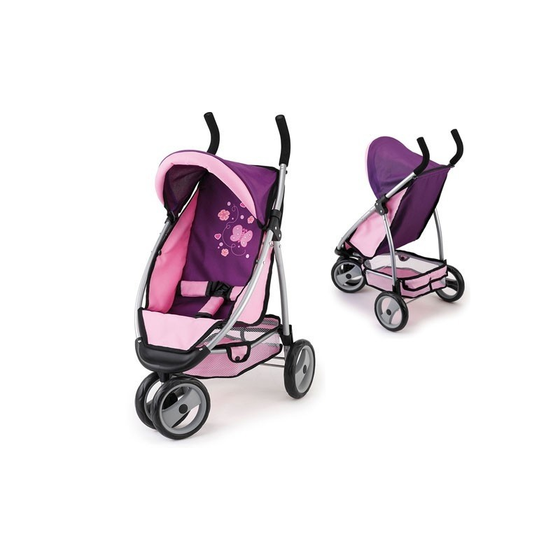 purple and pink stroller strollers photopoint. Black Bedroom Furniture Sets. Home Design Ideas