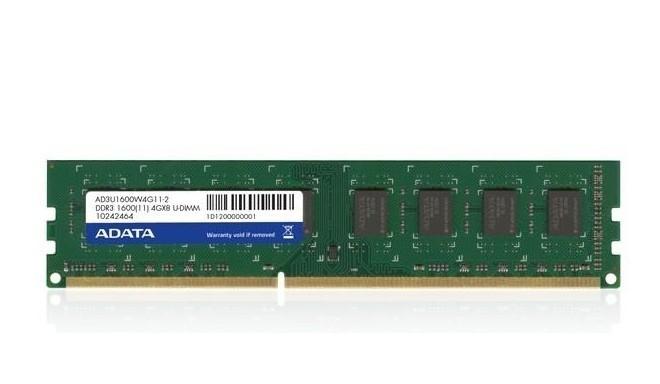 Adata RAM DDR3 4GB 1600MHz CL11 Bulk