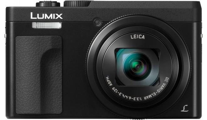Panasonic Lumix DMC-TZ90, melns
