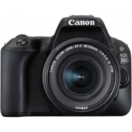 Canon EOS 200D + 18-55mm IS STM Kit, черный