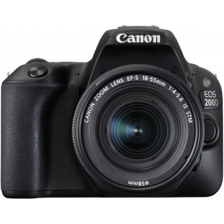 Canon EOS 200D + 18-55mm IS STM Kit, черный