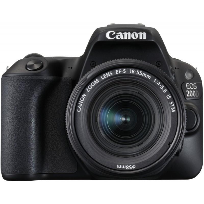 3e8e8c5088b Canon EOS 200D + 18-55mm IS STM Kit, black - DSLRs - Photopoint