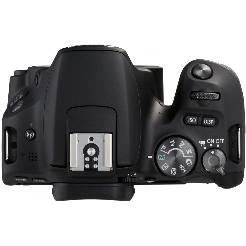Canon EOS 200D + 18-55mm DC III Kit, black