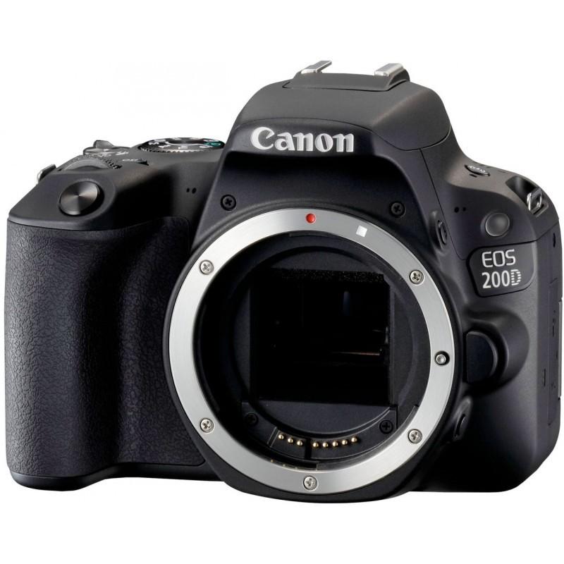 Canon EOS 200D body, black